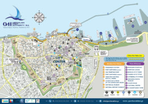 Heraklion port map