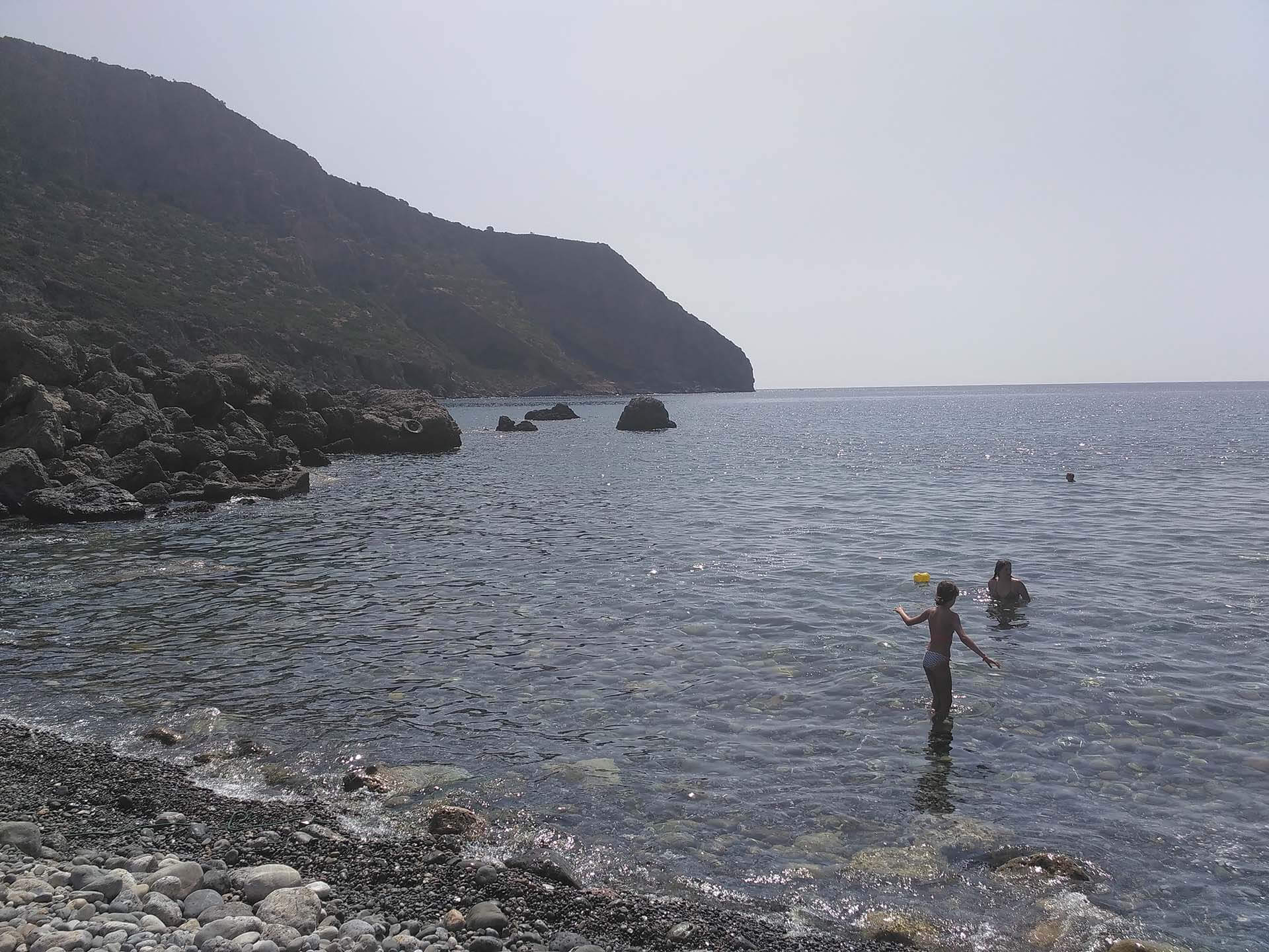 ancient lissos beach