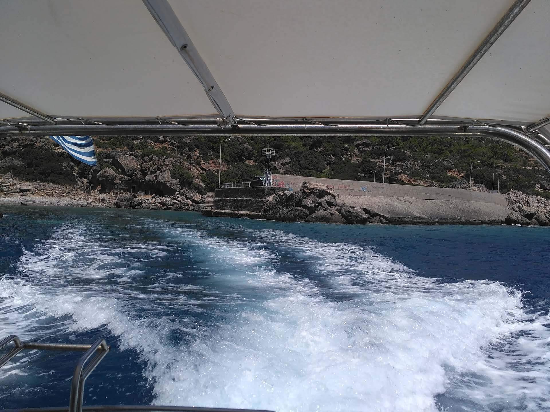 Sougia boat taxi