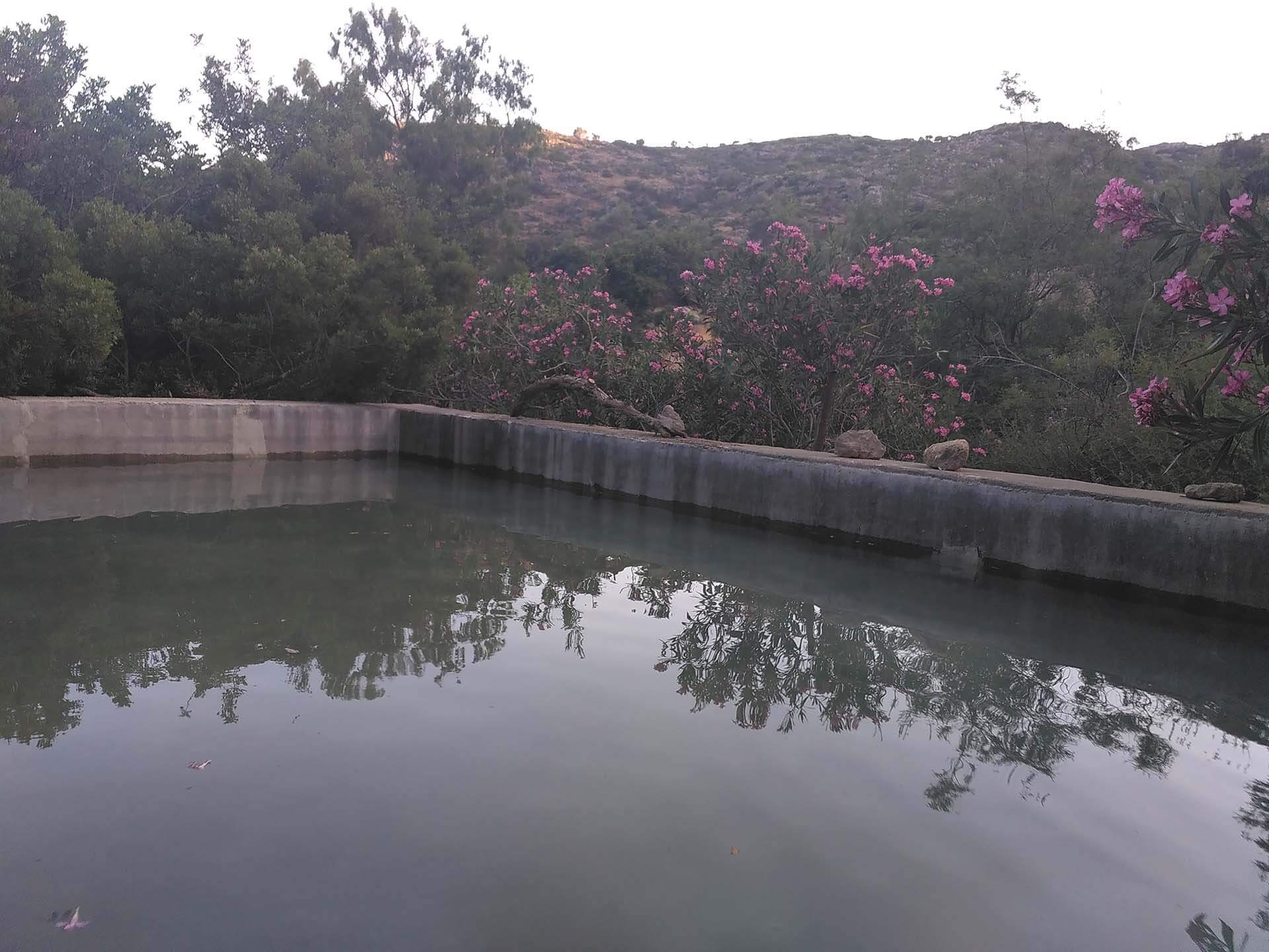 ancient lissos water reservoir
