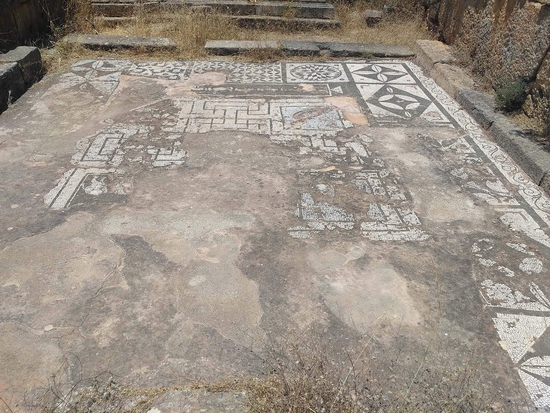 Asklipio mosaic